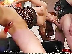 The dildo is not enough for this redhead SLUT!