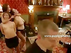 Public son coercion mom japanese orgy with bound in rope victims perverted in shame