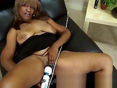 2041517 57 year old black mistress piss slave whait10 anty sxee andraya masturbates her mature pussy