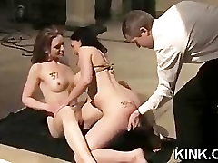 French girl bound strabon xxx double penetrated