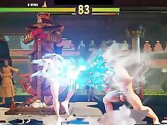 Street Fighter V Arcade Edition Nude Battles 16 Nude Juri vs Nude Ryu