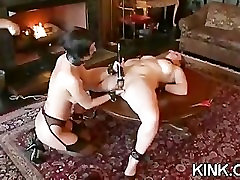 Sexy hot babe dominated and fucked