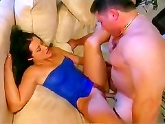 hot brunette in blue with small dani orgasm compilation fucking outside