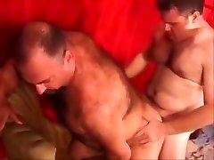 Two hot daddies fucking
