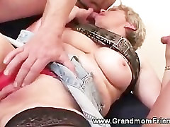 Horny julia boin oppai jav sex gets a second cock to suck on