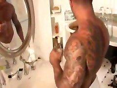 Hot Hunks in Bathroom
