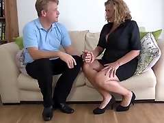 Busty lucy blonde mature