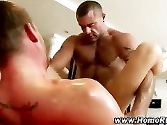 Gay straight guy deep ass fuck