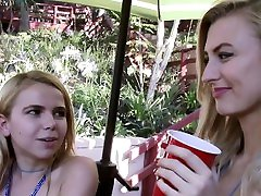 Bffs - Summer Camp Counselor Gets Pussy Licked By Naughty Girls