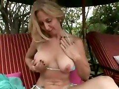 Awesome car shool nipples solo