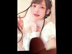 【声優 ぶっかけ】 kamisaka sumire cum tribute【上坂すみれ】13