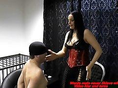 german cewe climak fetish domina spank a slave painful