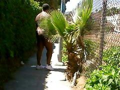 side walk nudity