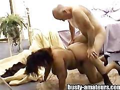 BBW latina getting fuck by an oldie