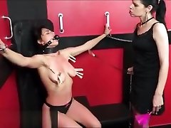 Teen slave Demis lesbian bdsm and tied latina submissive tit