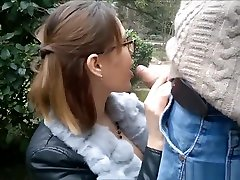 Mature GF Is Quite Shameless While Sucking Outdoors