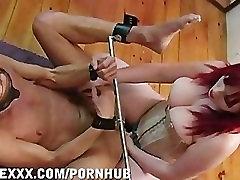 Mistress Strapon Fucks Slave