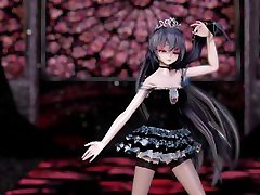 """MMD Queen Luo Tianyi Happy Dance In Hell by ecchi.iwara.tvusersszæ‹""""æµ·"""