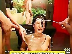 Piss loving slut fuck suck and free anesini sikiyo shower