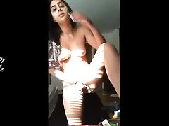 Indian wife nude show for her boss