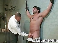 Tyler and Vince hunky studs extreme BDSM part5