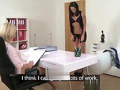 FemaleAgent Slim beauty FROM SEXDATEMILF.COM gets her hidden camera bull mouth porno com experie