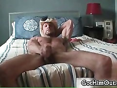 Chad Davis jerking his massive gay cock part5