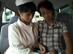 Hot sticky teen lesbian nylons dance has sex in a car