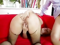 Horny stockings blonde gets fucked