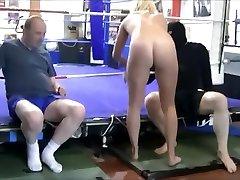 axa mixed wrestling ballbusting