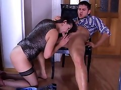 mature king faking practicing sex in stockings and pantyhose 2