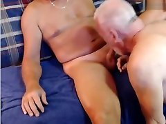 Old sucking cock Daddy