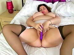 UK milf vuclip sex video clip com Fox looks very sexy in a stewardess outfit