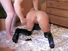 German Blonde Milf Squirts After www antarvarsna in hindi com Sex