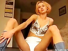 wild skinny women plays toys and gets fucked