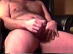 Mature Man Gerry Beats Off