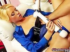 ग्लैमर यूरो कामोत्तेजक खिलौना सुनहरे बाल वाली