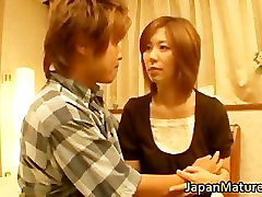 Japanese wife surptise lady has great sex part5