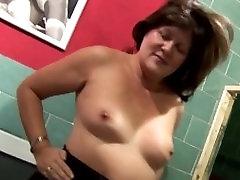 granny enjoying her old body