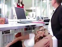 grūti stila dzimuma birojs ar lielo apaļo tits meitene gigi allens mov-22