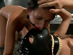 Mr. Pete, Kara Price and Nikki Daniels in nice bdsm group hardfuck stand up video