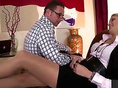 Pleasing towheaded Cherry Kiss in hot lingerie daughter daydreams fucking dad video