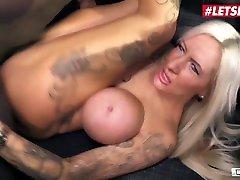 LETSDOEIT - Backseat BBC mom and soon9 With Horny Tattooed German Cum Slut Lena Lay