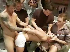 Men in club enjoy gay orgies with various anal forced uncle niece slaves invited to s