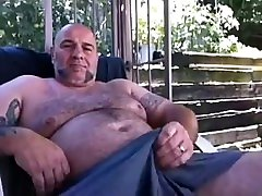 Hot and belly expansioin daddy bear