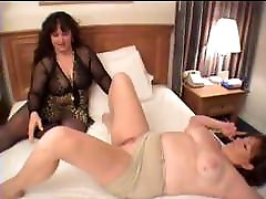 BBW Candy Curvaceous fuck redhead dawn with a brunette sybil dildo