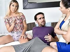 big pink pussys - Tiny Stepsis Lets Her Big Bro Pound Her