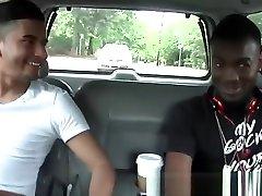 Black guy fucks man hole