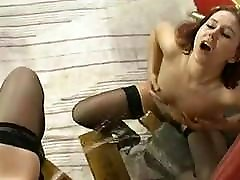 Vintage - two women having pissing