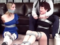 Mature and young indian hairy pussi taped up